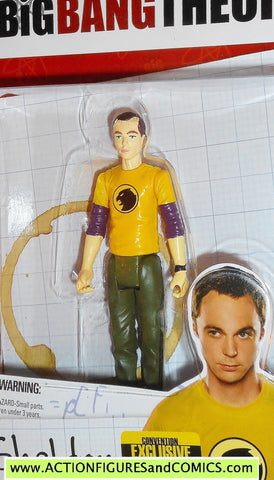 Big Bang Theory SHELDON COOPER HAWKMAN variant SDCC Comic con bif bang bow toys moc