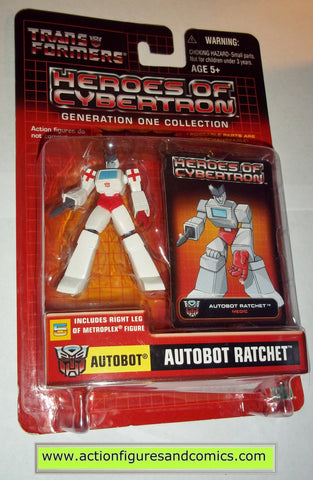 Transformers pvc RATCHET heroes of cybertron hoc hasbro toys action figures moc mip mib