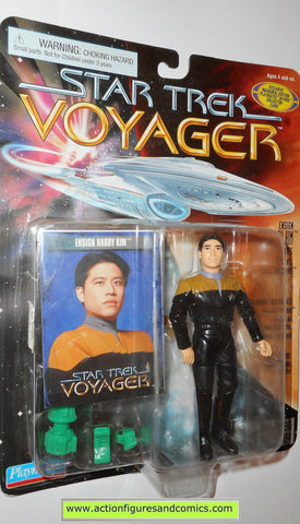Star Trek HARRY KIM voyager 1996 playmates action figures toys moc