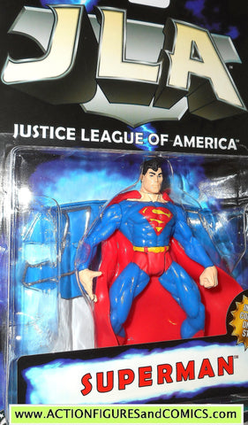 Total Justice JLA SUPERMAN CLASSIC 1998 justice league america dc moc