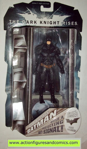 dc universe classics BATMAN movie masters dark knight rises bat signal