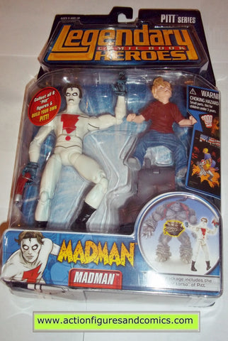 Legendary Comic Book Heroes MADMAN pitt Marvel Legends toy biz mib moc mip action figures