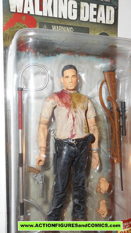 The Walking Dead RICK GRIMES walgreens exclusive mcfarlane toys action figures moc