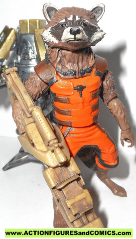 marvel legends ROCKET RACCOON Groot series guardians of the galaxy 6 inch toy figure