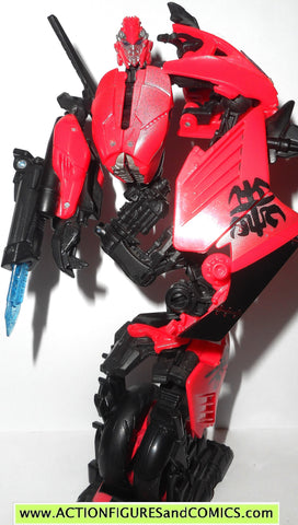 transformers movie ARCEE red revenge of the fallen rotf motorcycle 2009