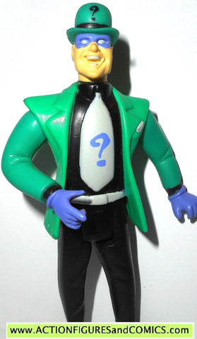 batman animated series RIDDLER 1992 kenner toy figure dc universe fig