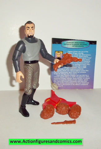 Star Trek CAPTAIN KOLOTH playmates complete 1993 action figures