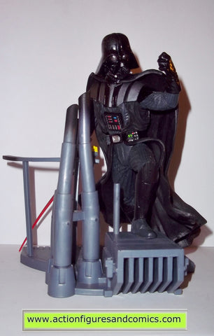 star wars action figures Unleashed DARTH VADER 2002 complete kenner hasbro toys