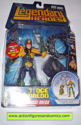 Legendary Comic Book Heroes JUDGE DREDD pitt Marvel Legends toy biz mib moc mip action figures