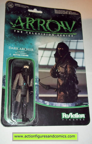 Reaction figures Arrow DARK ARCHER tv show green dc universe funko toys action moc mip mib