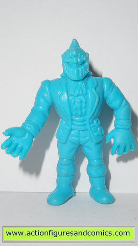 Muscle m.u.s.c.l.e men MR BARRACUDA 066 1985 light blue vintage mattel toys action figure