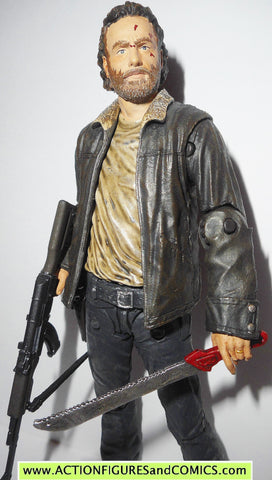 The Walking Dead RICK GRIMES series 8 mcfarlane toys tv show action figure