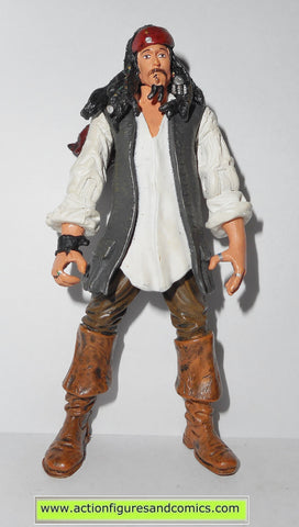 Pirates of the Caribbean JACK SPARROW CAPTAIN desert weary 2007 action figures fig