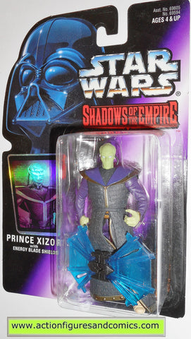 star wars action figures PRINCE XIZOR shadows of the empire hasbro toys moc