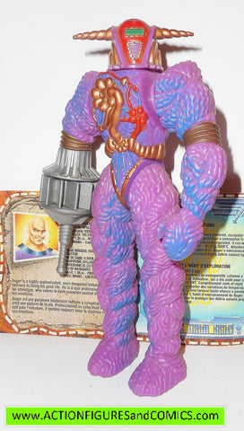 Inhumanoids AUGER 1986 complete hasbro toys action figures