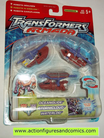 Transformers armada SEA TEAM 2002 mini con moc mip mib