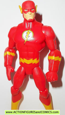 DC universe total heroes FLASH 2013 6 inch action figures