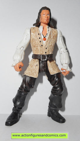 Pirates of the Caribbean WILL TURNER deluxe zizzle 2007 action figures fig