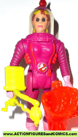ghostbusters JANINE MELNITZ super fright features 1988 the real kenner toy