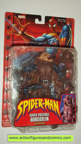 marvel legends HOBGOBLIN SUPER POSEABLE spider-man classics toy biz action figures moc mip mib