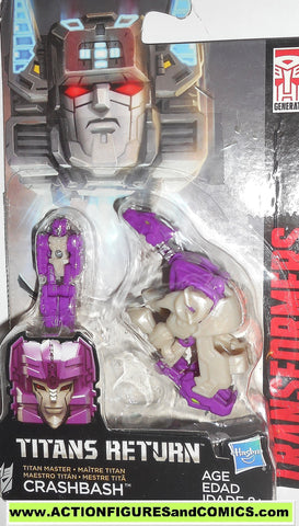 transformers CRASHBASH titans return combiner wars legends class 2016 moc