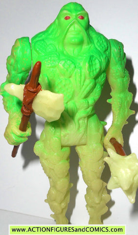 Swamp Thing BIO GLOW kenner toys action figure 1990 tv series DC universe