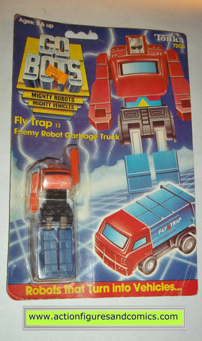 gobots FLY TRAP mr-13 garbage truck tonka ban dai toys action figures moc mip mib vintage transformers