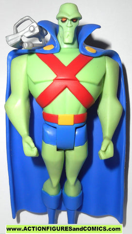 justice league unlimited MARTIAN MANHUNTER bright green jlu action figures