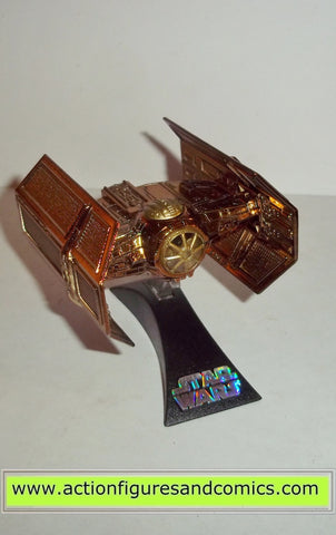 star wars titanium TIE ADVANCED darth vader's GOLD exclusive SDCC