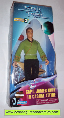 captain james kirk casual attire playmates toys action figures