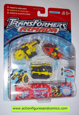 Transformers armada DESTRUCTION TEAM 2002 mini con cons moc