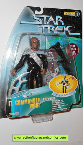 Star Trek WORF warp factor series 6 inch playmates toys action figures moc mip mib