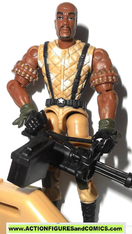 gi joe ROADBLOCK 2004 v11 walmart exclusive valor vs venom vvv gijoe g i