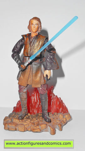 star wars action figures ANAKIN SKYWALKER duel at mustafar 2005 Revenge of the sith