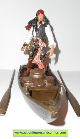 Pirates of the Caribbean JACK SPARROW CAPTAIN 4 inch deluxe boat 2007