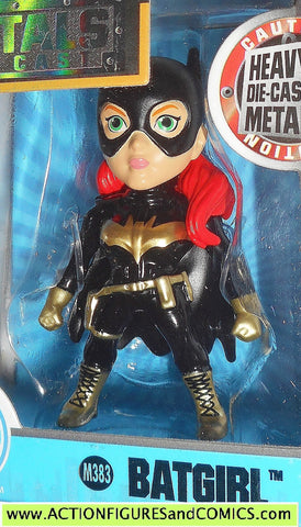 DC metals die cast BATGIRL New 52 black gold batman moc mib