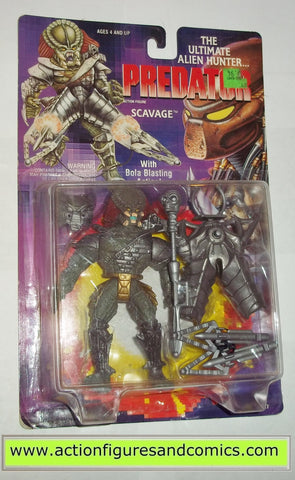 aliens vs predator kenner SCAVAGE PREDATOR 1994 dark green movie moc mip mib action figures toys