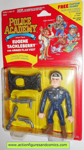 Police academy action figures EUGENE TACKLEBERRY 1988 moc 3711