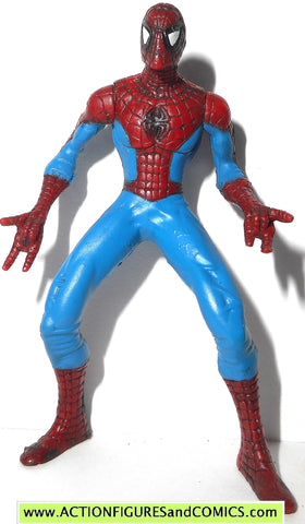 Marvel Heroes SPIDER-MAN 2.5 inch miniature poseable action figures 2005 toy biz universe