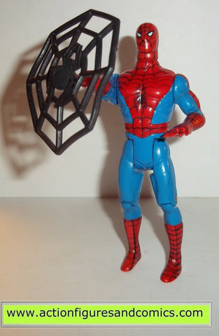 marvel super heroes toy biz SPIDER-MAN web shooting action Complete #smin