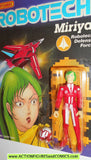 Robotech MIRIYA RED matchbox toys 1985 action figures moc 0155