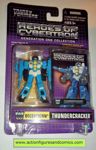 Transformers Heroes of Cybertron THUNDERCRACKER pvc action figure new moc