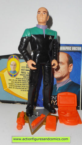 Star Trek DOCTOR voyager 1995 playmates toys action figures cards
