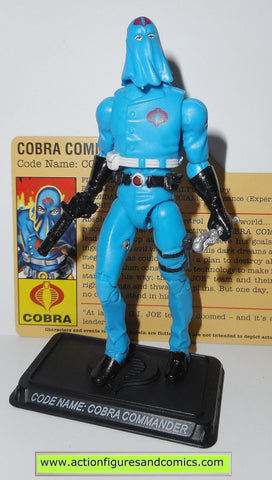 gi joe COBRA COMMANDER 2008 v35 25th anniversary pyramid of darkness