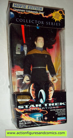 commander data generations movie 9 inch playmates toys action figures