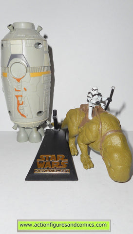 star wars titanium TATOOINE DROID HUNTER dewback escape pod micromachines