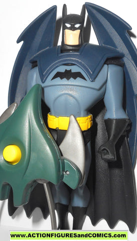 justice league unlimited BATMAN attack armor dc universe toy figure jlu jla