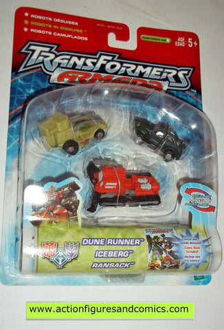 Transformers armada ADVENTURE TEAM 2002 mini con moc mip mib