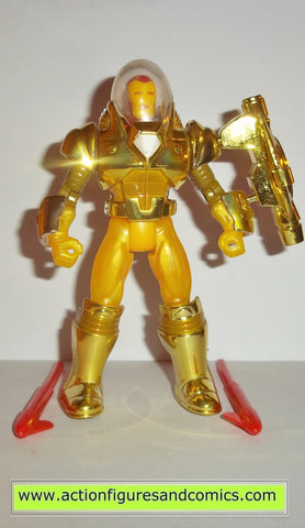 Iron man HYDRO ARMOR 1994 marvel universe action hour toy biz figures