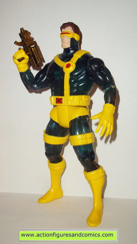 marvel universe toy biz CYCLOPS 10 inch x-men TRANSLUCENT